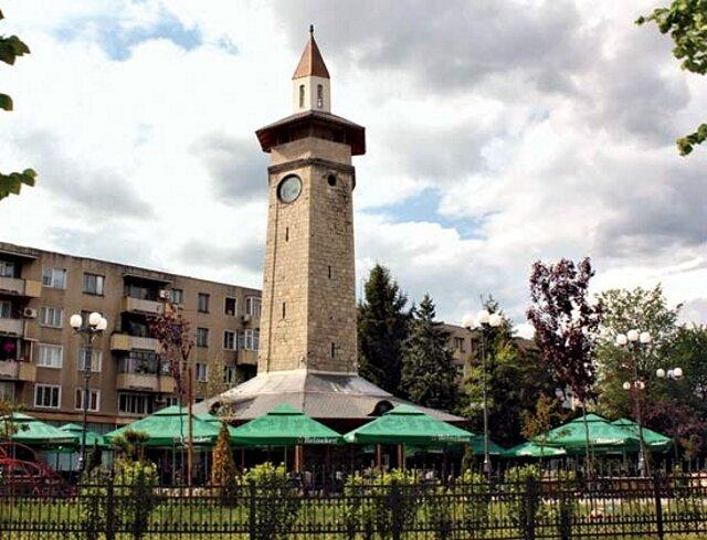 Wieża zegarowa w Giurgiu.