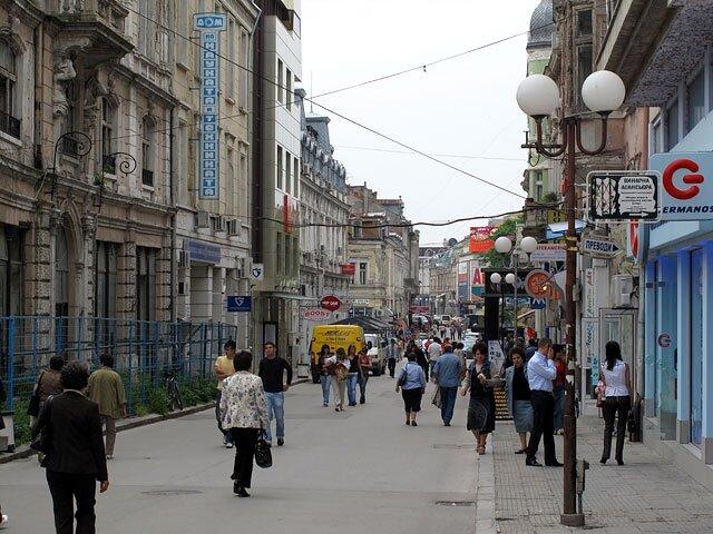 Ulice Ruse.